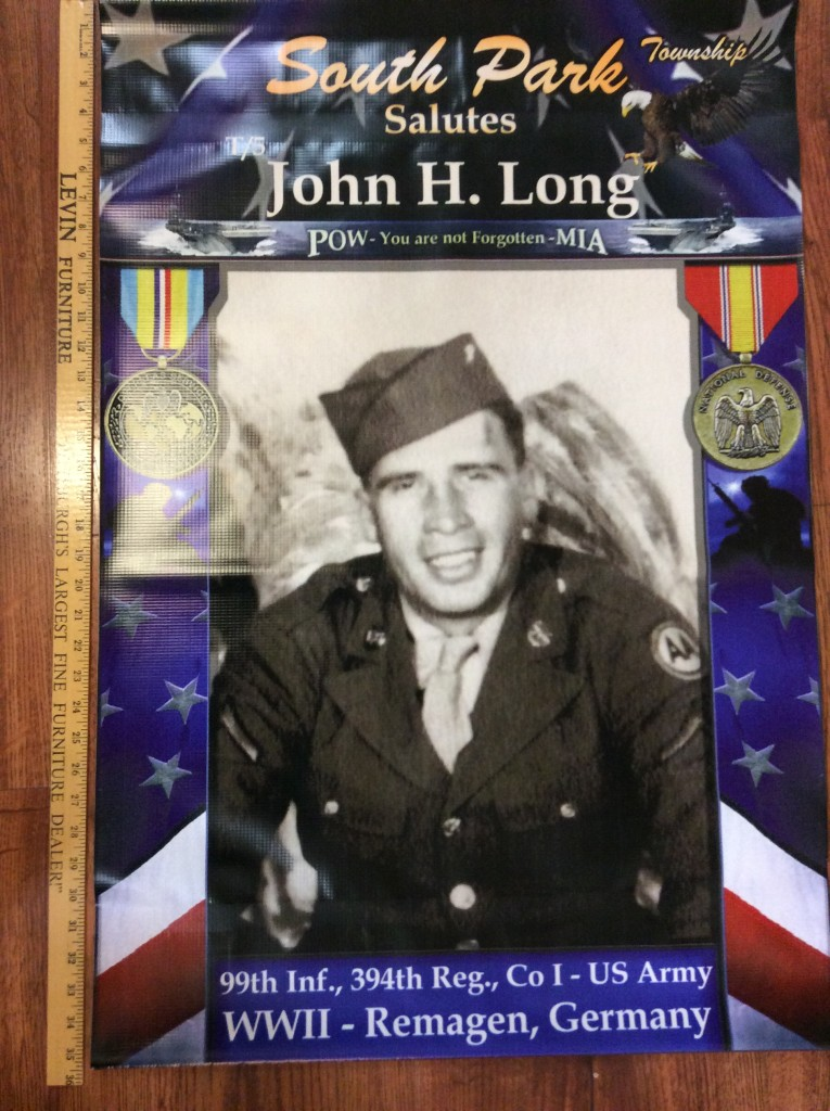 John Long banner Pittsburgh