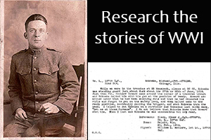 Starting World War I Research
