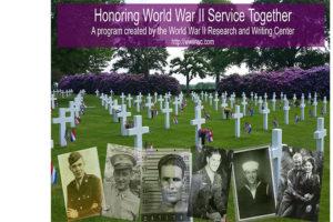 Honoring World War II Service Together Program