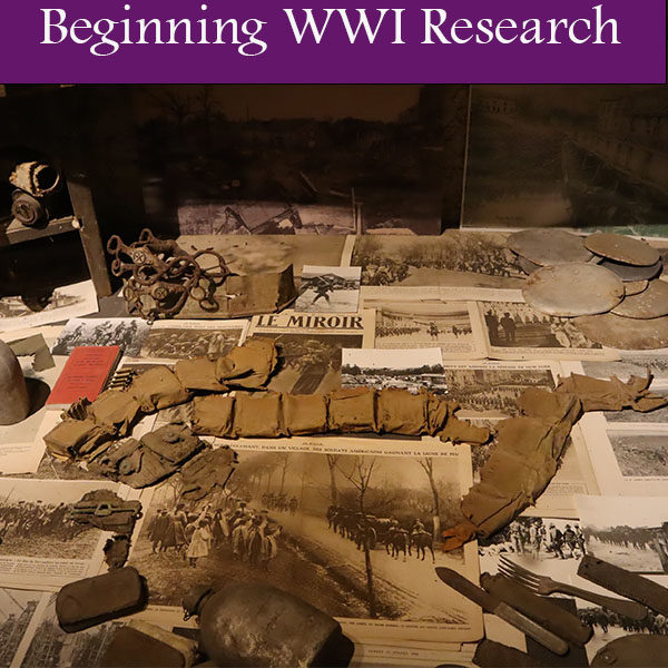 Beginning WWI Research