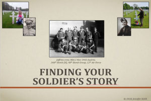 Finding Your Soldier's Story