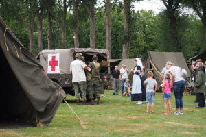 WWII Re-Enactment Education