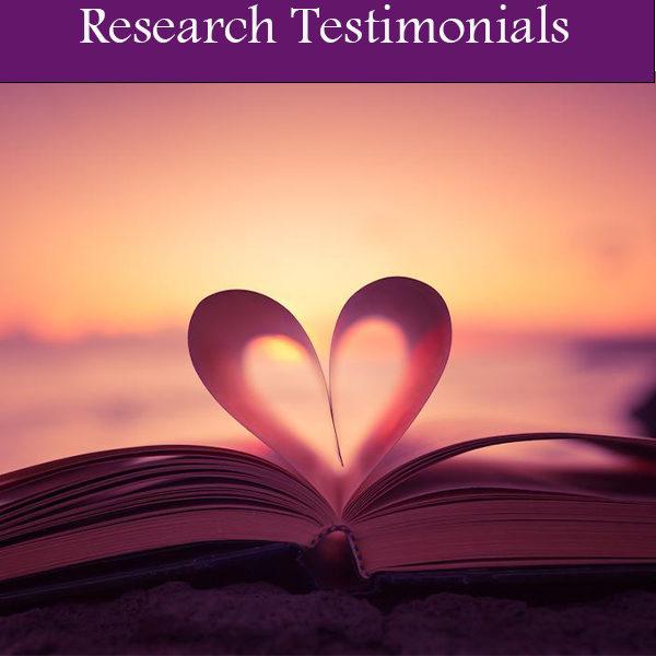 Research Testimonials